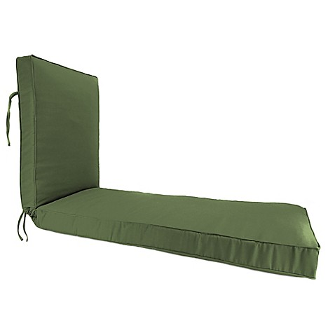 Buy 68 inch x 24 inch chaise lounge cushion in sunbrella for Buy chaise lounge cushion