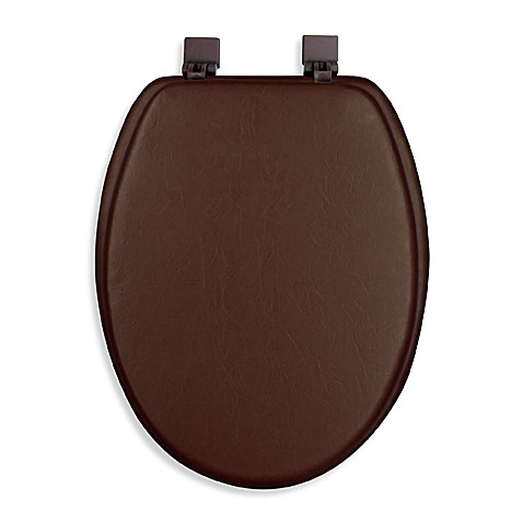 Ginsey Cushioned Elongated Toilet Seat Bed Bath Amp Beyond