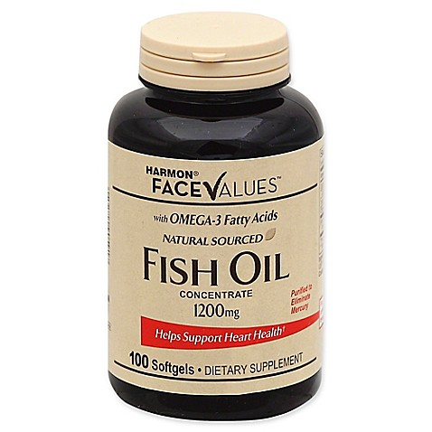 Buy harmon face values 100 count 1200 mg fish oil for Fish oil on face