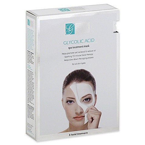 Buy global beauty care 5 count glycolic acid spa for Beauty treatment bed