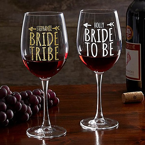 Bride Tribe Red Wine Glass Bed Bath Amp Beyond