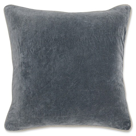 Villa Home Velvet Square Throw Pillow at Bed Bath & Beyond in Cypress, TX | Tuggl