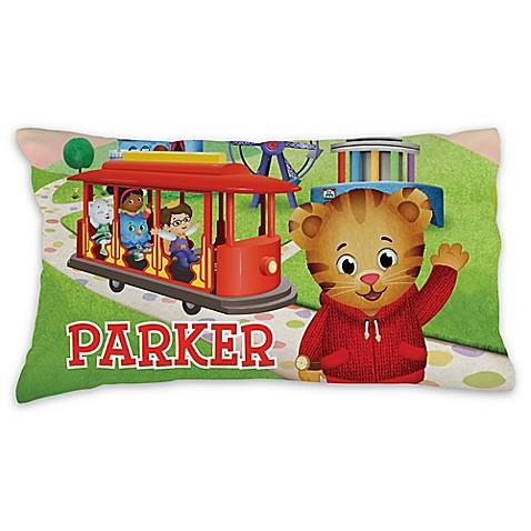 Daniel Tiger Trolley Pillowcase In Green Buybuy Baby