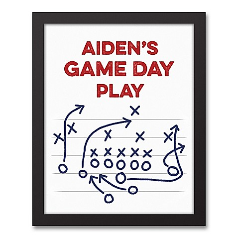Designs Direct Game Day 11-Inch x 14-Inch Canvas Wall Art at Bed Bath & Beyond in Cypress, TX | Tuggl