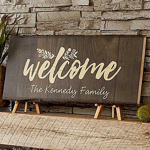 Cozy Home Basswood Plank Sign at Bed Bath & Beyond in Cypress, TX | Tuggl