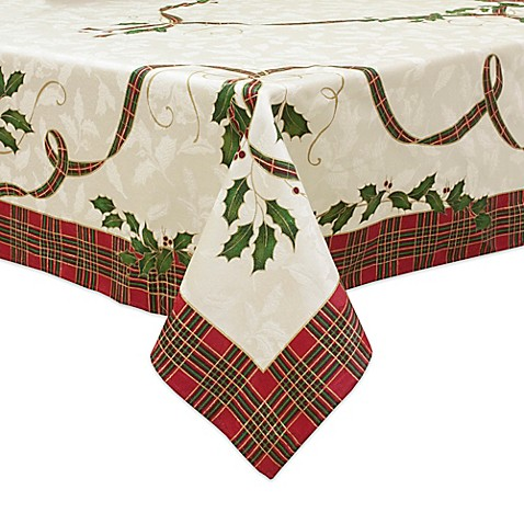 Lenox 174 Holiday Nouveau Melody Tablecloth Bed Bath Amp Beyond