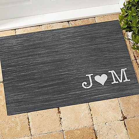 Family Initials Door Mat at Bed Bath & Beyond in Cypress, TX   Tuggl