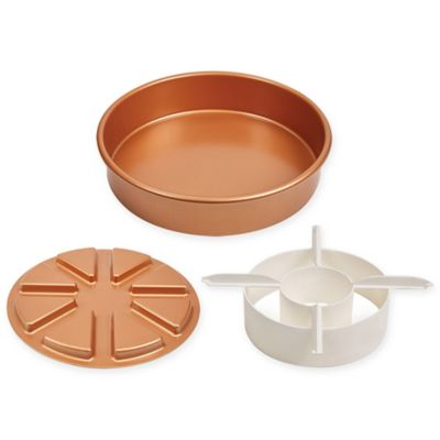 Cake Decorating Kit Bed Bath Beyond : Buy Copper Chef? 3-Piece Perfect Cake Pan Set from Bed ...