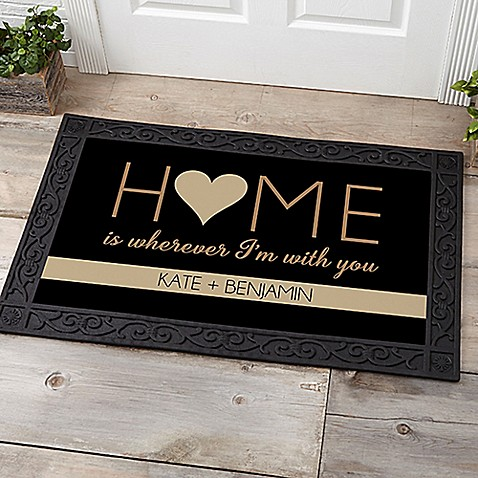 Home With You Door Mat at Bed Bath & Beyond in Cypress, TX | Tuggl