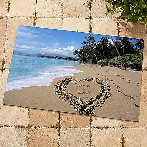 Our Paradise Island Door Mat at Bed Bath & Beyond in Cypress, TX | Tuggl