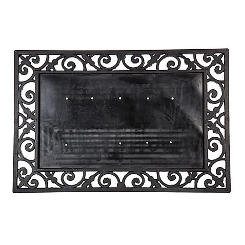 16 Inch X 24 Inch Monogram Letter Coir Door Mat Insert