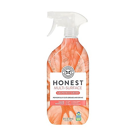 Cleaning Products The Honest Company 26 Fl Oz Honest Multi Surface Cleaner In Grapefruit