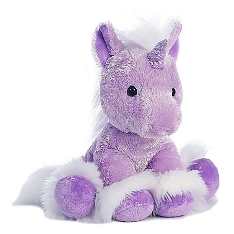 Aurora World 174 Dreaming Of You Unicorn Plush Toy In Purple