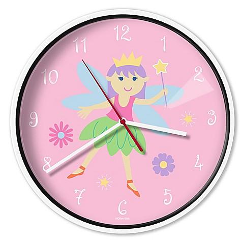 Olive Kids Fairy Princess Wall Clock Buybuy Baby