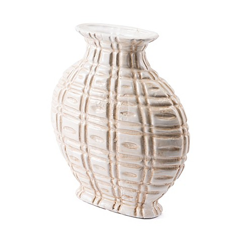 Zuo® Kaban Short Vase in Ivory at Bed Bath & Beyond in Cypress, TX | Tuggl