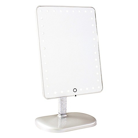 Impressions Vanity Pro Iv Touch Led Make Up Mirror In Platinum by Bed Bath And Beyond