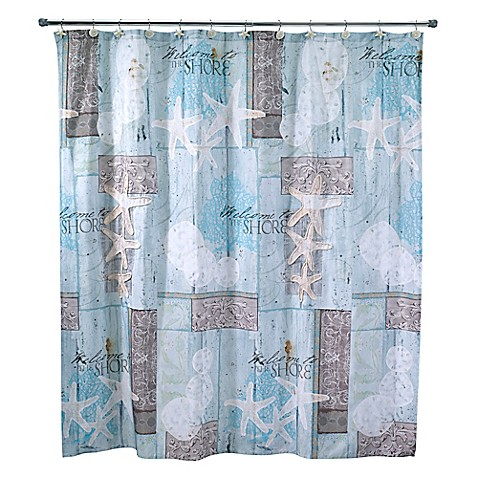 Avanti Beachcomber Shower Curtain Bed Bath Amp Beyond