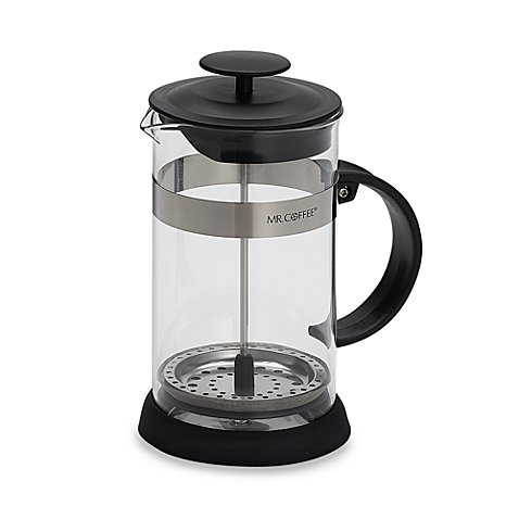 Mr CoffeeR 4 Cup Coffee Press In Black