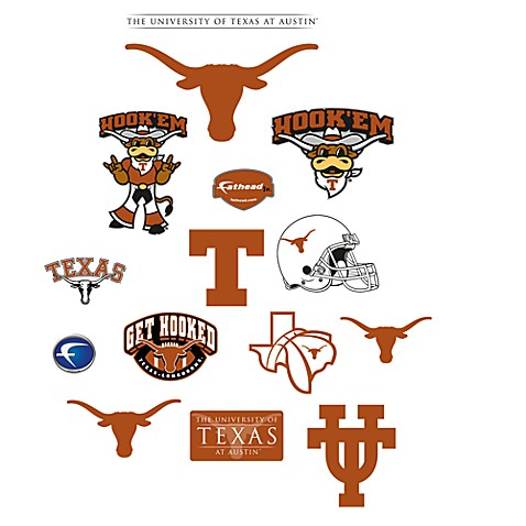 University Of Texas Logo Junior Fatheads Bed Bath Amp Beyond