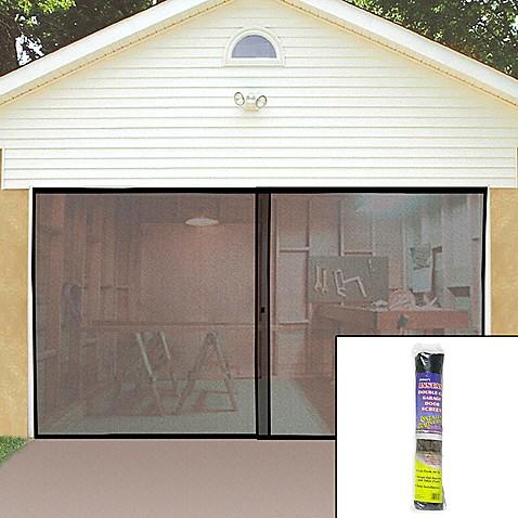 Buy single garage screen door from bed bath beyond - Single car garage door screen ...