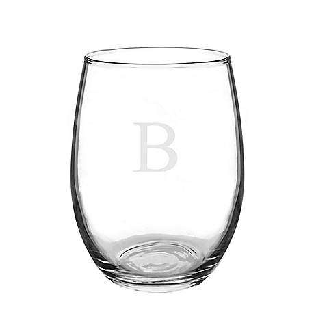 Cathy's Concepts Stemless Wine Glasses in Clear (Set of 4) at Bed Bath & Beyond in Cypress, TX | Tuggl