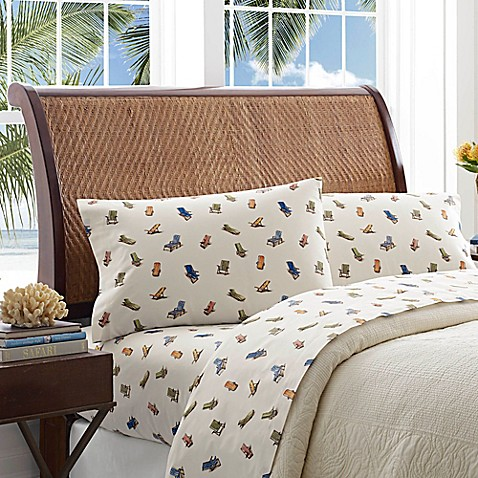 Tommy Bahama® Beach Chairs Sheet Set at Bed Bath & Beyond in Cypress, TX   Tuggl