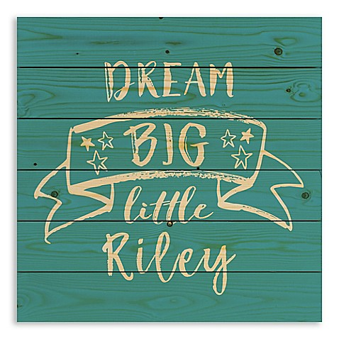 Designs Direct Dream Big Pallet Wooden Wall Art at Bed Bath & Beyond in Cypress, TX | Tuggl
