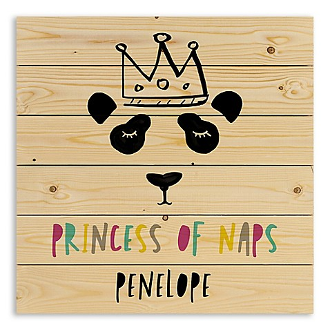 """Designs Direct """"Princess of Naps"""" Wooden Wall Art at Bed Bath & Beyond in Cypress, TX 
