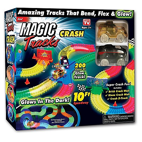 Magic Tracks™ Crash Set at Bed Bath & Beyond in Cypress, TX | Tuggl