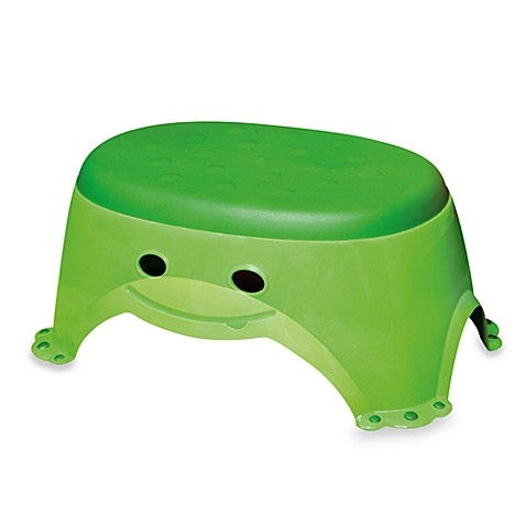 step stools mommy 39 s helper froggie step stool from buy buy baby. Black Bedroom Furniture Sets. Home Design Ideas