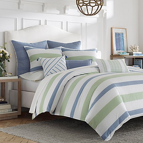 Nautica® Norwich Reversible Duvet Cover Set at Bed Bath & Beyond in Cypress, TX | Tuggl
