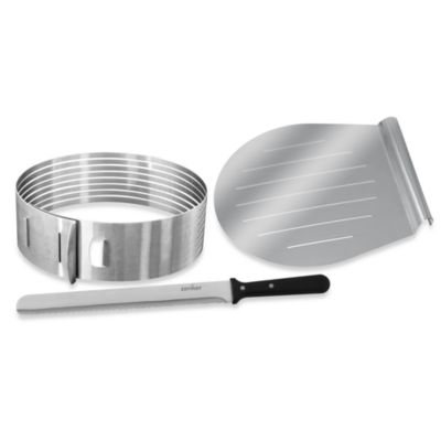 Cake Decorating Kit Bed Bath Beyond : Frieling Layer Cake Slicing Kit - Bed Bath & Beyond