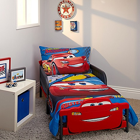 Disney 174 Cars 3 Rusteze Racing Team 4 Piece Toddler Bedding