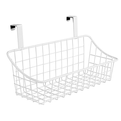 Spectrum Steel Grid Over-the-Door Basket at Bed Bath & Beyond in Cypress, TX | Tuggl