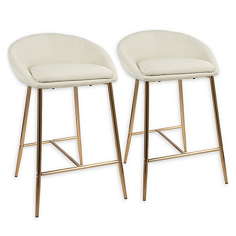 Lumisource™ Matisse Upholstered Barstools (Set of 2) at Bed Bath & Beyond in Cypress, TX   Tuggl