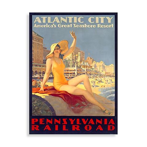 Atlantic City Wall Poster Bed Bath Amp Beyond
