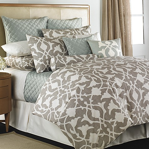 Barbara Barry 174 Poetical Duvet Cover Bedbathandbeyond Ca