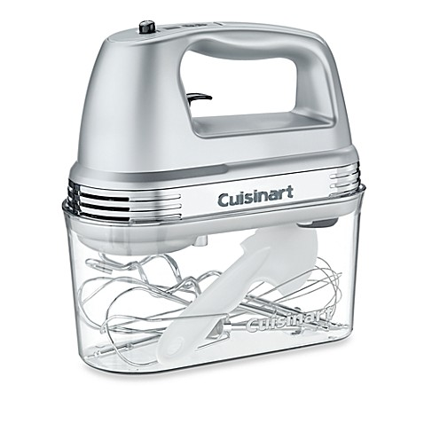 Cuisinart 174 7 Speed Electric Hand Mixer In Brushed Chrome