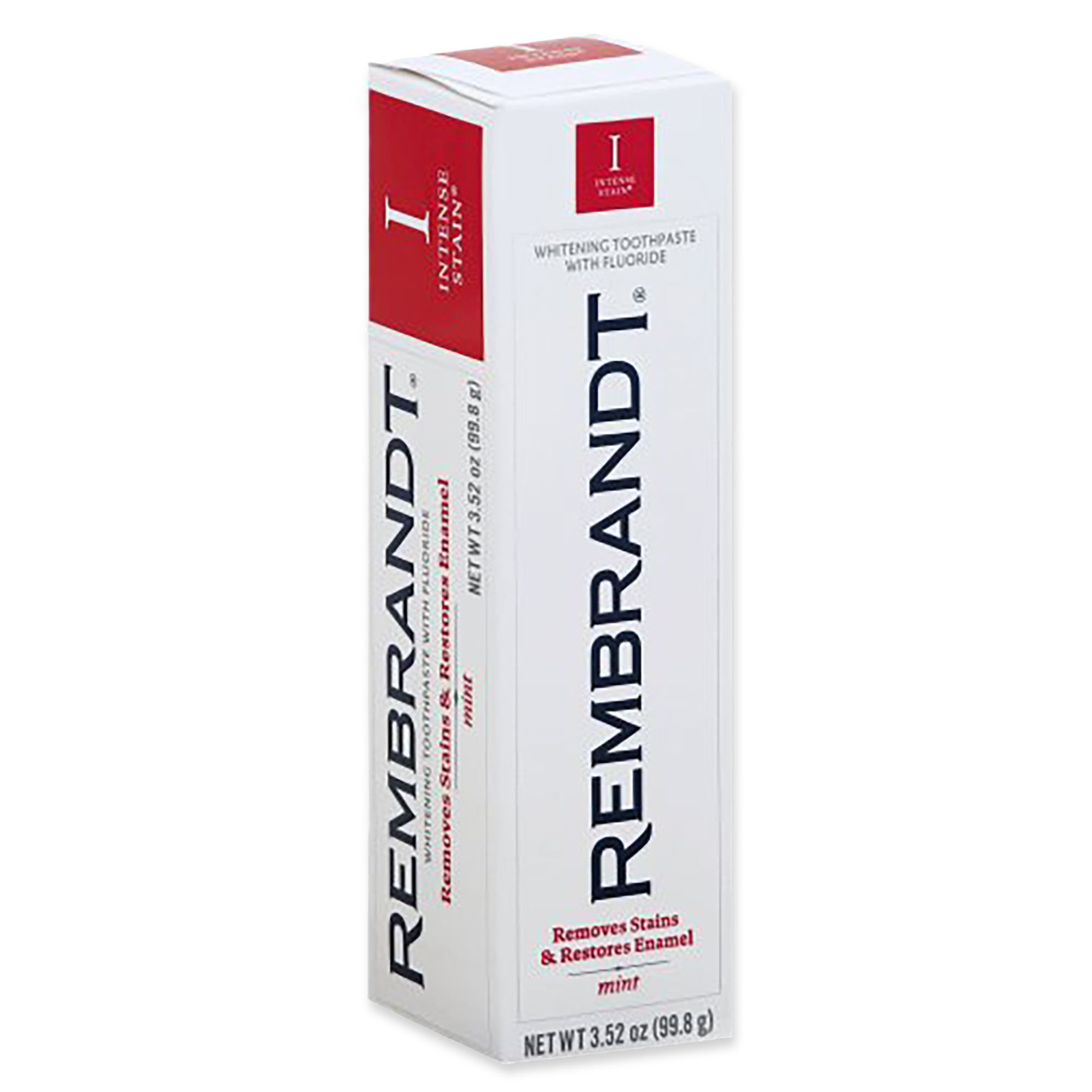 Rembrandt® 3.52 Oz Intense Stain Toothpaste In Mint by Bed Bath And Beyond