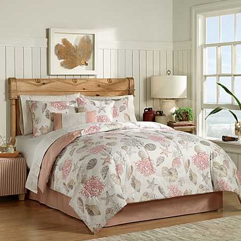 Seashore complete comforter set bed bath beyond - Complete bedroom sets with mattress ...