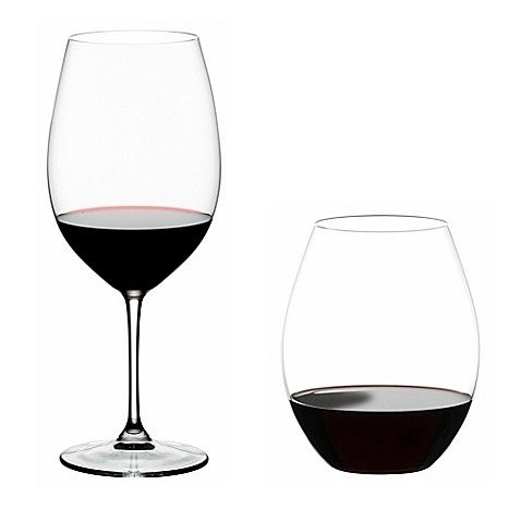 Riedel® Vinum XL Red Wine Glass and O Syrah/Shira Stemless Glass Buy 2 Get 4 Value Set at Bed Bath & Beyond in Cypress, TX | Tuggl