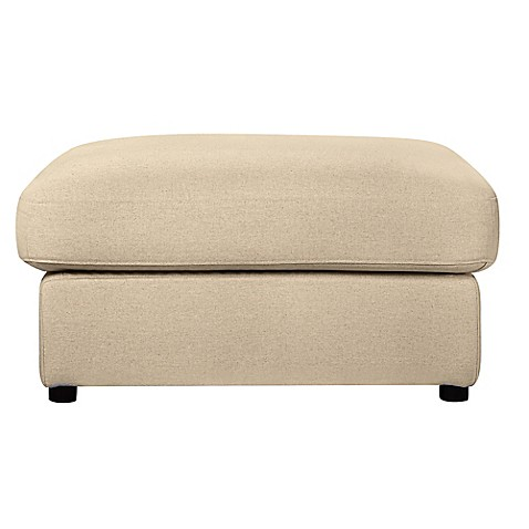 Capsule™ Cameron Ottoman in Oatmeal Linen at Bed Bath & Beyond in Cypress, TX   Tuggl