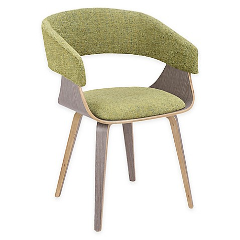 Lumisource™ Upholstered Dining Chair in Light Gray/green at Bed Bath & Beyond in Cypress, TX   Tuggl