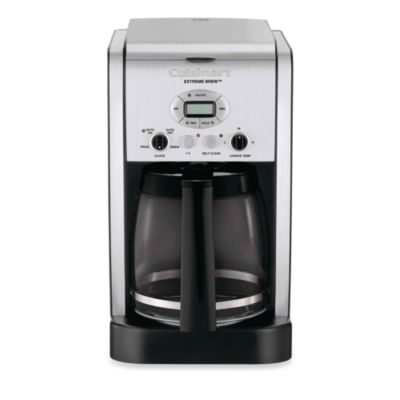 Cuisinart Coffee Maker Charcoal Filter : Cuisinart Extreme Brew 12-Cup Programmable Coffee Maker - Bed Bath & Beyond