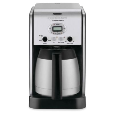 Grind And Brew Coffee Maker Bed Bath And Beyond : Buy Cuisinart Extreme Brew 10-Cup Programmable Coffee Maker from Bed Bath & Beyond
