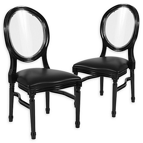 Flash Furniture Vinyl Upholstered Accent Chairs (Set of 2) at Bed Bath & Beyond in Cypress, TX   Tuggl