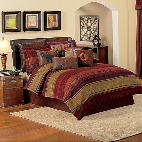 Croscill plateau comforter set bed bath beyond - Bed bath and beyond bedroom furniture ...