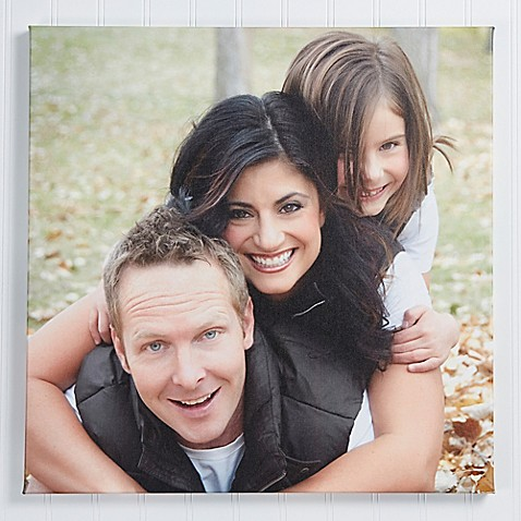 Square Photo Memories Canvas Wall Art at Bed Bath & Beyond in Cypress, TX | Tuggl