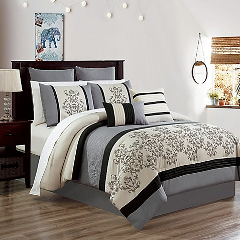 Carter Embroidered Comforter Set at Bed Bath & Beyond in Cypress, TX   Tuggl