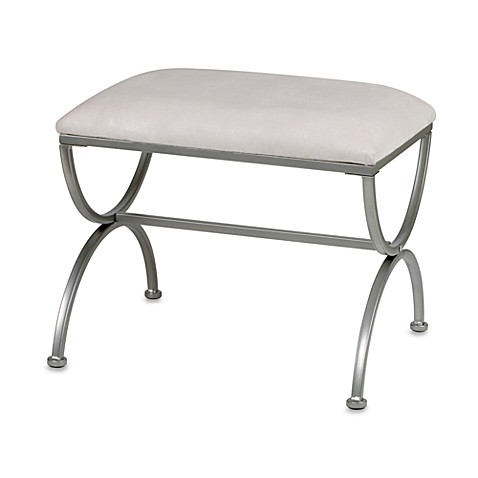 Madison Vanity Bench In Satin Nickel Bed Bath Amp Beyond